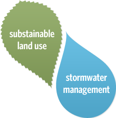 sustainable land use/ storm water management
